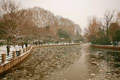 People& x27 de Zhengzhou; parque de s Fotos de archivo