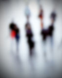 People details abstract, intentionally blurred background Stock Photo