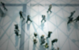 People details abstract, intentionally blurred background Royalty Free Stock Images