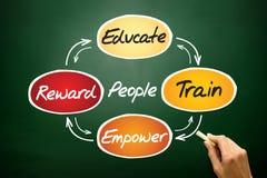 People development process Royalty Free Stock Image