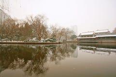 People& x27 di Zhengzhou; parco di s Immagine Stock
