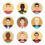 People of different nationalities royalty free illustration