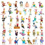 People of different Profession. Illustration of people of different profession in vector Royalty Free Stock Image