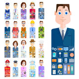 People of different Profession Stock Images
