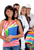 People with different professions Stock Photography