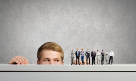 People of different professions Stock Image