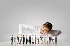 People of different professions Stock Photography