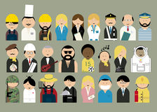 People different professions. Stock Images