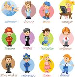 People different professions,vector Stock Photography