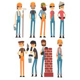 People of different professions. Labor Day. Vector illustration royalty free illustration