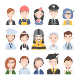 People of different professions Stock Images