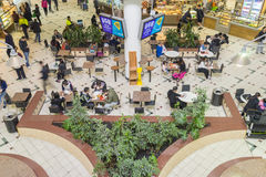 People dining in food court in Melbourne Royalty Free Stock Photos