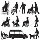 People with disabilities Stock Photos