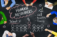 People Discussing About Human Resources Concepts Royalty Free Stock Image