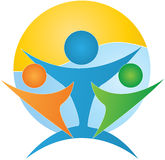 People diversity. A vector drawing represents people diversity design royalty free illustration