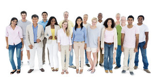 People Diversity Casual Group Ethnicity Community Concept Royalty Free Stock Image
