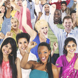 People Diversity Casual Society Group Concept Stock Photos