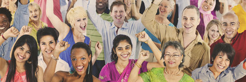 People Diversity Casual Society Group Concept.  Royalty Free Stock Images