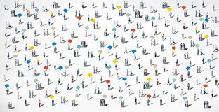 People Diversity Crowd Ethnicity Concept Stock Photography