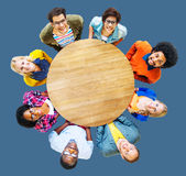 People Diversity Group Togetherness Support Cheerful Concept Stock Photography