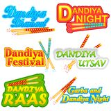 People doing Dandiya Stock Photos