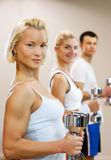People doing fitness exercise Royalty Free Stock Photography
