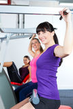 People doing strength or sports training in gym Royalty Free Stock Photography