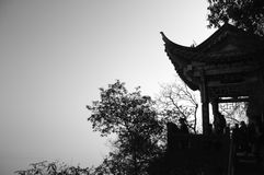 People in the Dragon Gate. Kunming, Yunnan, China Royalty Free Stock Photography