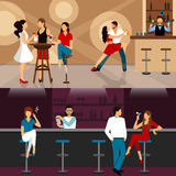 People Drinking In Bar Stock Photos