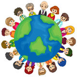 People and Earth Royalty Free Stock Photo