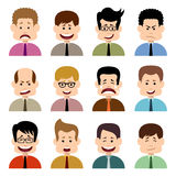 People in emotions Stock Photo