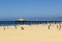People enjoy the beach Stock Photography