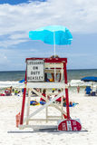 People enjoy the beautiful beach at Niceville Stock Photos