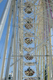 People enjoy the big wheel at the festival Royalty Free Stock Photography