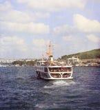 People enjoying Bosphorus tour ,Bosphorus Cruise Day Trips (Ista Stock Photo
