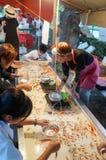 Tenjin Festival, Osaka, Japan. People enjoying the festival at Tenjin Festival, One of Japan`s top three festivals, Osaka, Japan, July 23rd, 2018. fish scoop stock photography