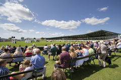 People enjoying the Great Yorkshire Show Royalty Free Stock Photo