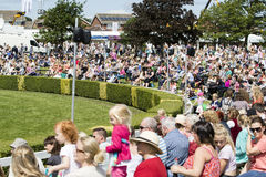 People enjoying the Great Yorkshire Show Stock Image