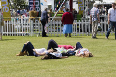 People enjoying the Great Yorkshire Show Stock Photo