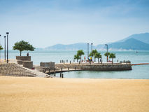 People enjoying at Repulse bay Stock Photo
