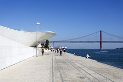 Lisbon - MAAT Museum Royalty Free Stock Photography