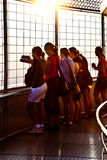 People enjoying view across Bangkok Royalty Free Stock Photos