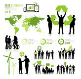 People Environmental friendly Green concept Stock Photo