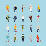 People. Eps 10. Profession set vector Stock Images
