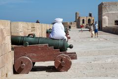 People at the Essaouira Royalty Free Stock Photos