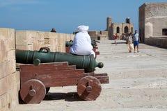 People at the Essaouira Royalty Free Stock Photos