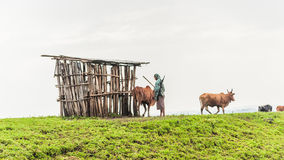 People in Ethiopia Royalty Free Stock Photo