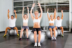 People exercise Stock Photo