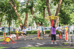People exercising. Stock Photography
