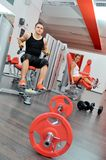 People exercising in the gym Stock Photography